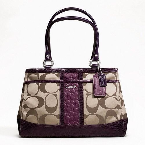 Coach Purse with Bow